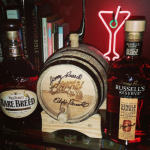Signed mini-aging-barrel gift - shipped weeks after the experience